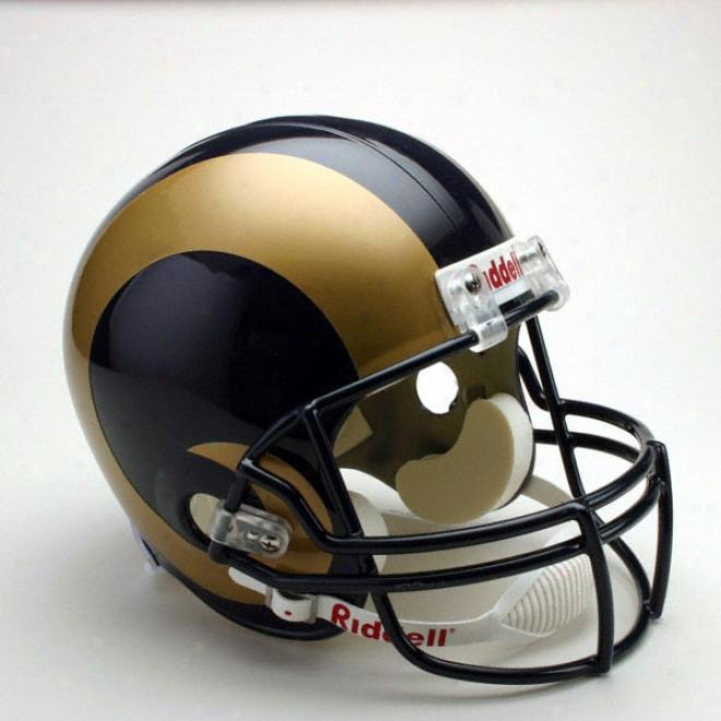 St. Louis Rams Dwluxe Replica Riddell Full Size Helmet