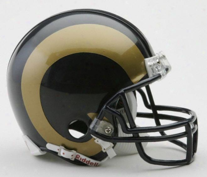 St. Louis Rams Nfl Riddell Mini Helmet