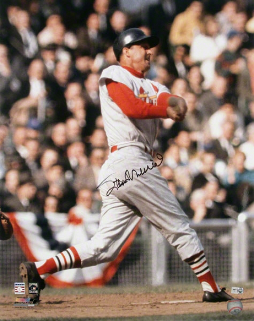 Stan Musial St. Louis Cardinals Auyographed 16x20 Photo