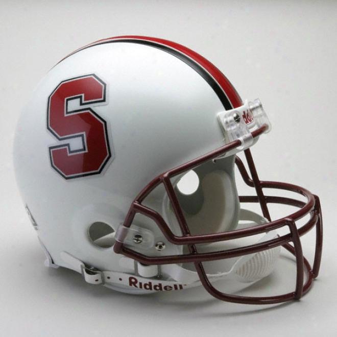 Stanford Cardinal Authentic Pro Streak Riddell Full Size Helmet