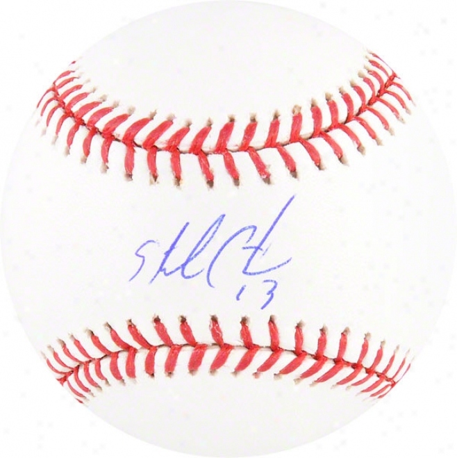 Starlin Castro Autographed Mlb Baseball  Details: Chicago Cubs