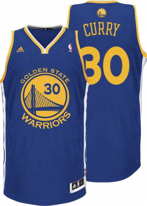 Stephen Curry Adidas Revolution 30 Swingman Golden State Warriors Jersey