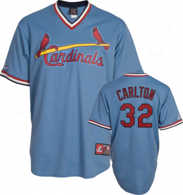 Steve Carlton St. Louis Cardinals Cooperstown Replica Jersey