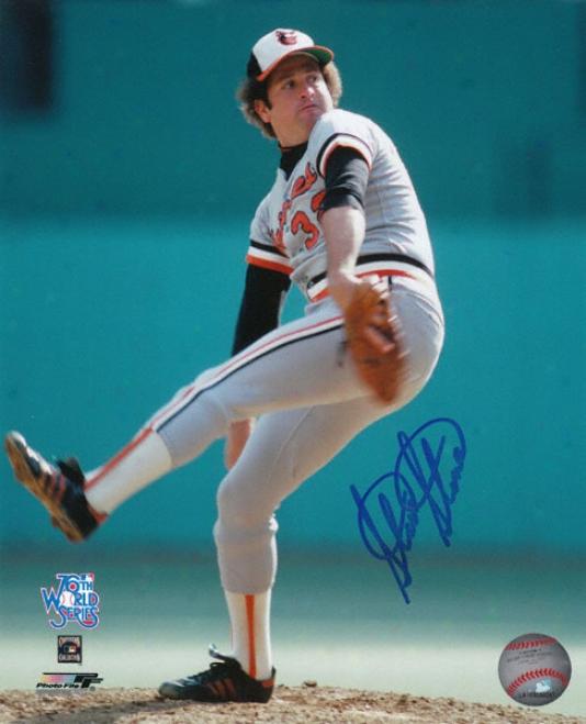 Steve Stone Baltimore Orioles Autographed 8x10 Photograph