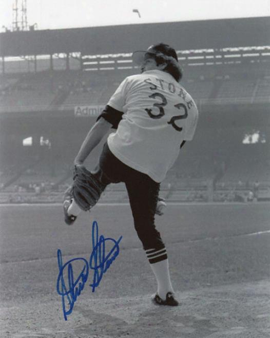 Steve Stone Chicago White Sox Autographed 8x10 Photograph