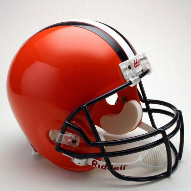Syracus Orangemen Deluxe Replica Riddell Helmet