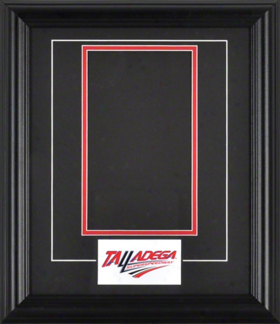 Talladega Speedway Ticket Pop-in Frame By the side of Logo