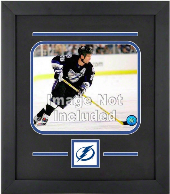 Tampa Bay Lightning 8x10 Horizontal Setup Frame With Team Logo