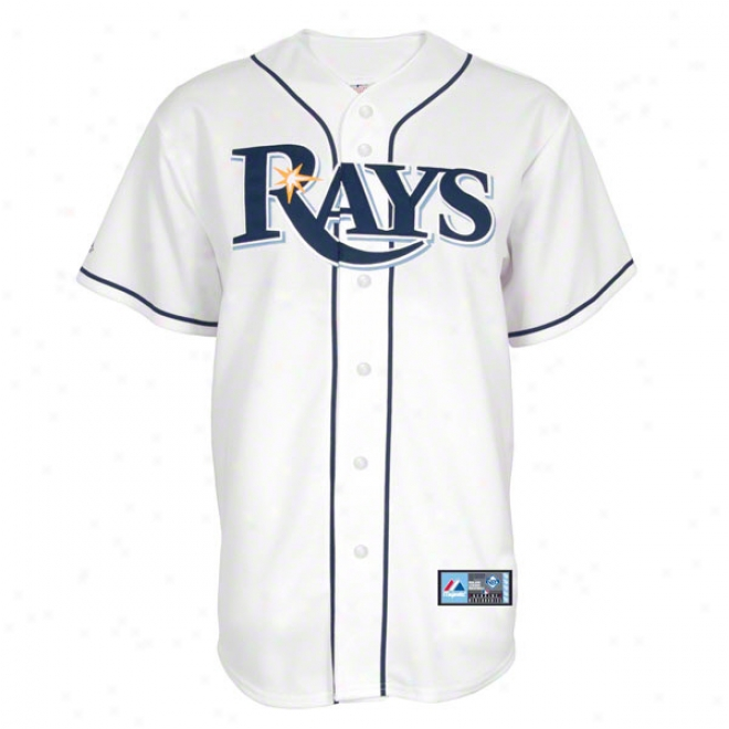 Tampa Bay Rays Home Mlb Reolica Jersey
