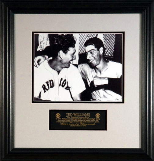 Ted Williams Boston Red Sox -the Greatest Season Ever- Classic Moment #3