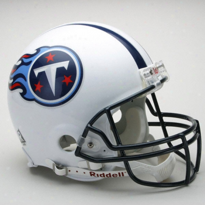 Tennessee Titans Authentiic Pro Line Riddell Full Size Helmet