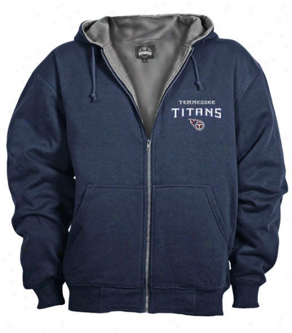 Tennessee Titans Craftsman Zip Frojt Hooded Jacket