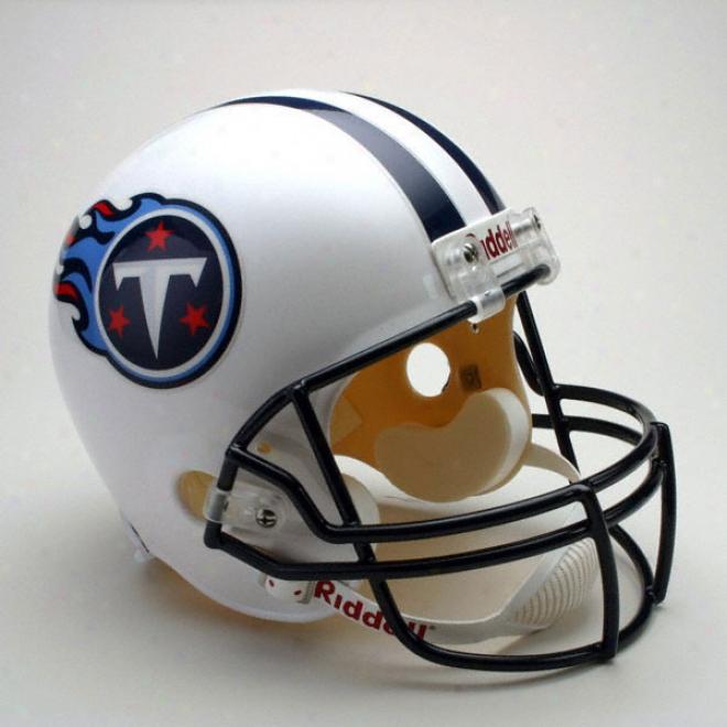 Tennessee Titans Deluxe Replica Riddell Full Size Helmet