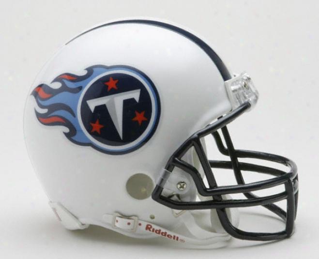 Tennessee Titans Nfl Riddell Mini Helmet
