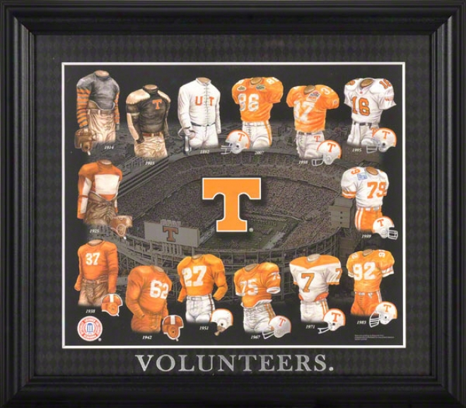 Tennessee Volunteers 13x15 Framed Print  Details: Evolution