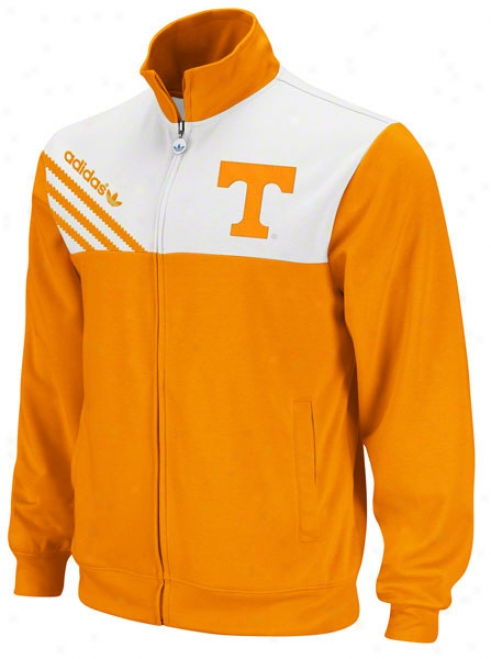 Tennessee Volunteers Adidas Orange Celebration Track Jacket