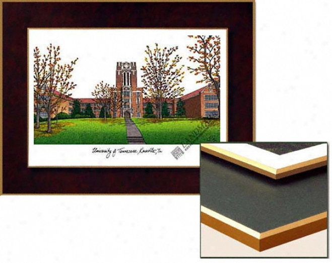 Tennessee Volunteers Collegiate Laminated Lithograph