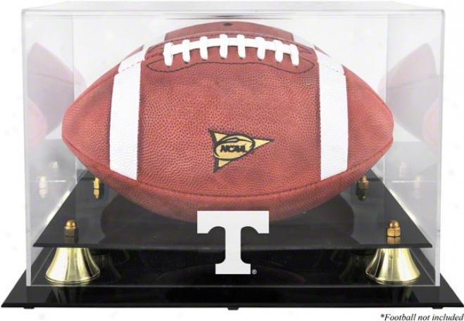 Tennessee Volunteers Golden Classic Logo Football Display Cawe