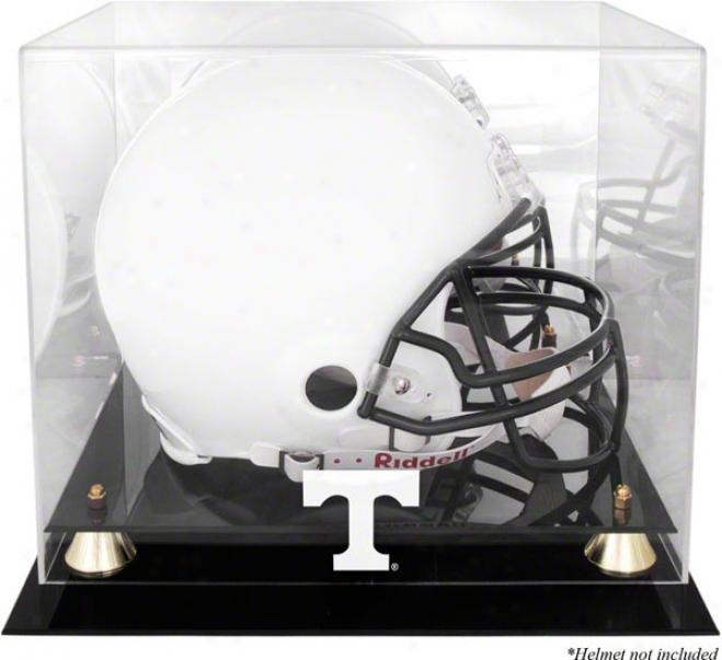 Tennessee Volunteers Golden Classic Logo Helmet Displa yCase