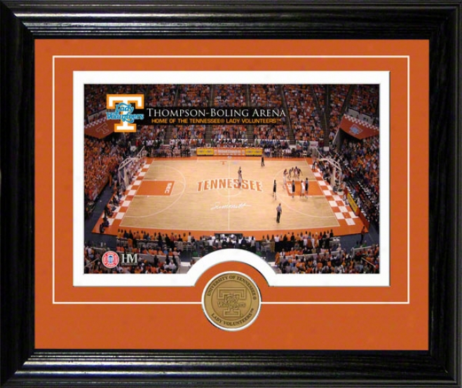 Tennessee Volunteers Lady Vols Thompson-boling Arena Desktop Photograph