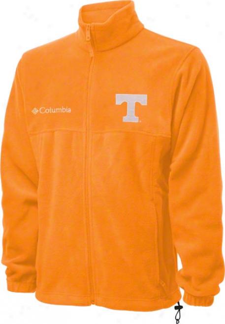 Tennessee Volunteers Orange Columbia Flanker Fu1l-zip Jacket