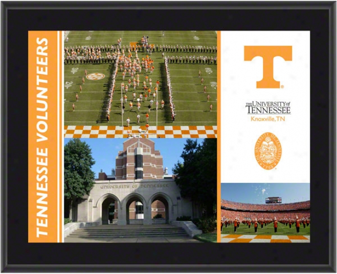 Tennessee Volunteers Plaque  Details: Suhlimated, 10x13, Ncaa Plaque