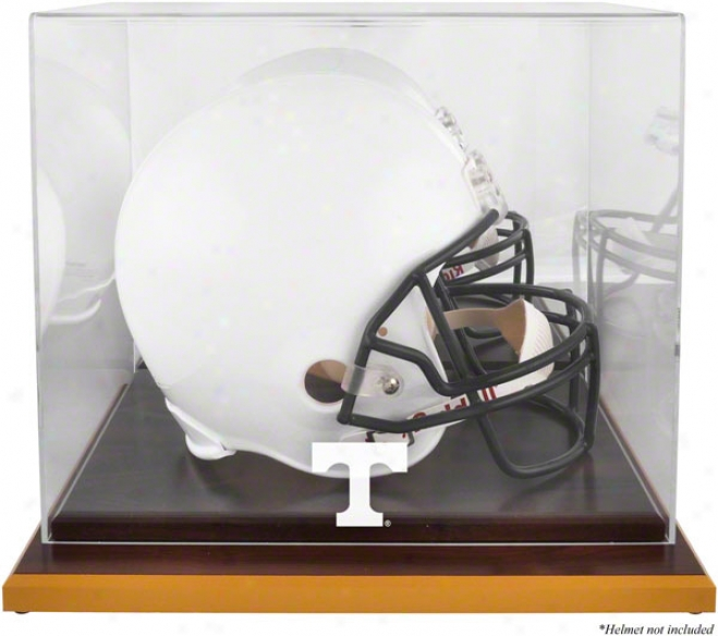 Tennessee Volunteers Woodbase Logo Helmet Display Case