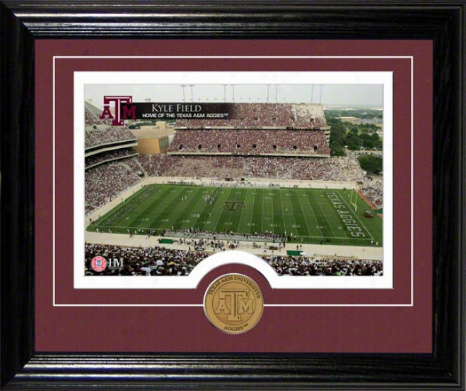 Texas A&m Aggies Kyle Field Desktop Photograph