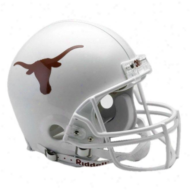 Texas Longhorns Authentic Pro Line Riddeli Full Size Helmet