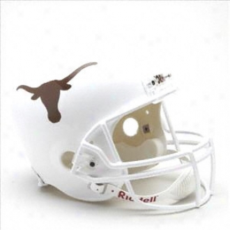 Texas Longhorns Deluxe Replica Riddell Helm