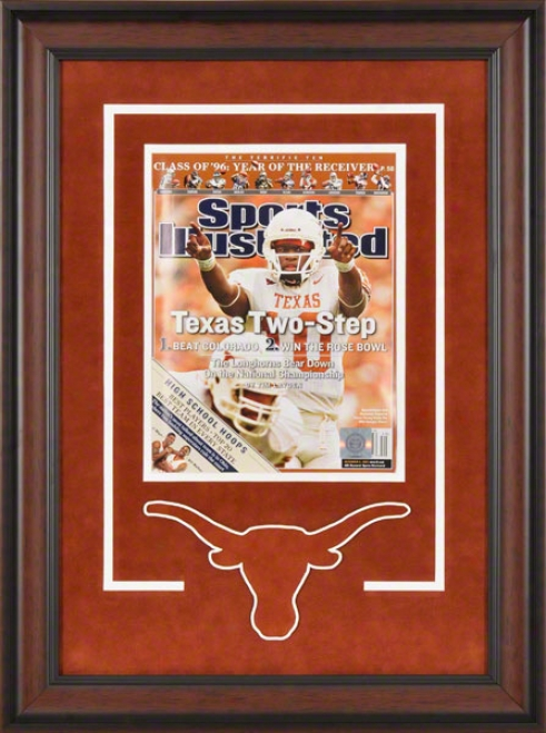 Texas Longhorns Framed Cover  Details: Sports Illustrated, Texas Two Step, Logo