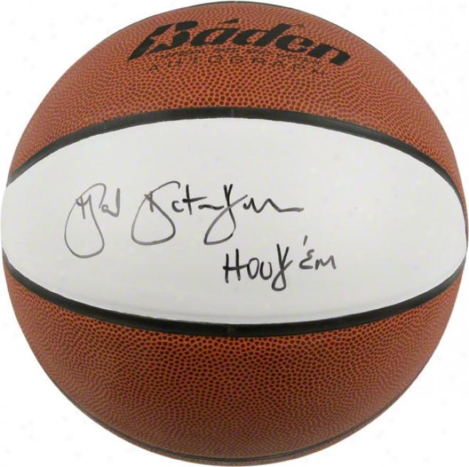 Texas Longhorns Gail Goestenkors Autograph Ball