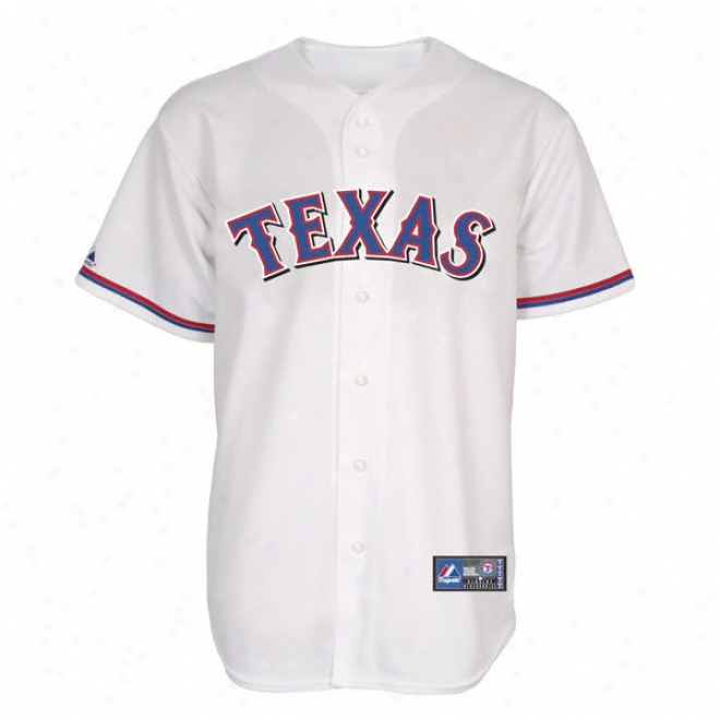 Texas Rangers Home Mlb Replica Jersey