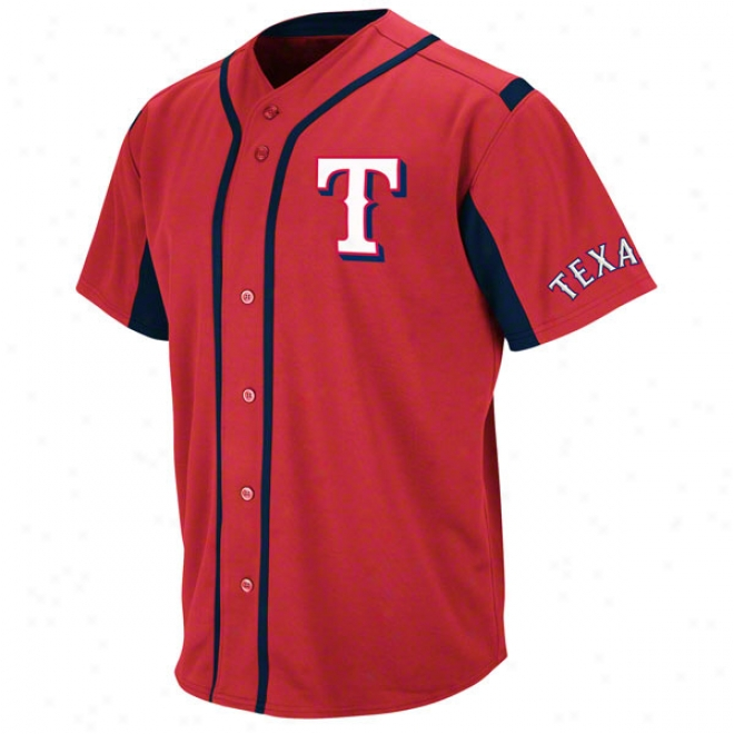 Texas Rangers Red Wind-up Jersey