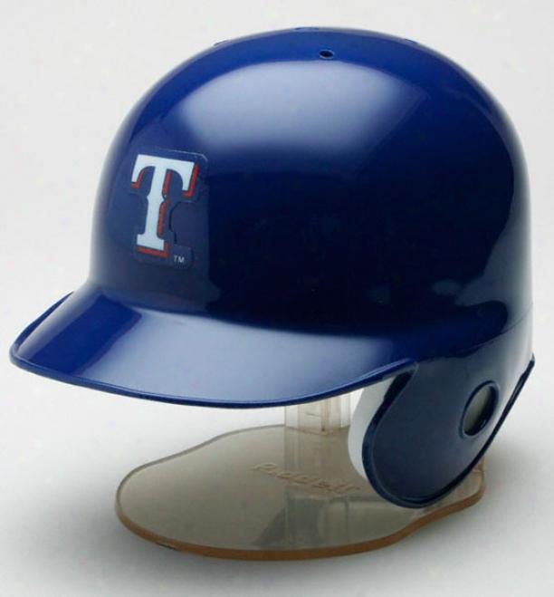 Texas Rangers Riddell Mini Helmet