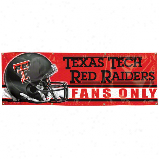 Texas Tech Red Raiders 2x6 Vinl Banner