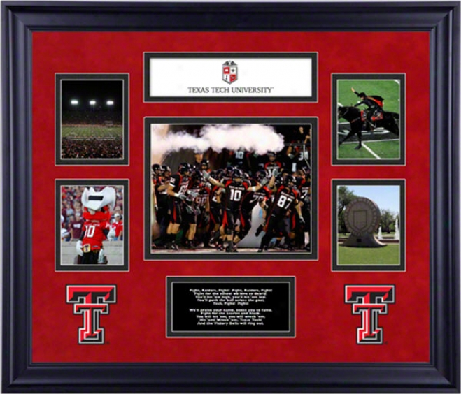 Texas Tech Red Raiders Framed 5-photograph Collage