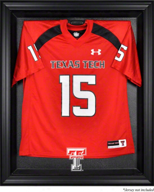 Texas Tech Red Raiders Framed Logo Jersey Display Case