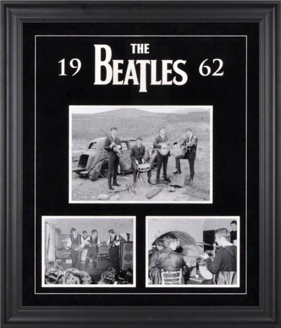 The Beatles 1962 Framed Presentation