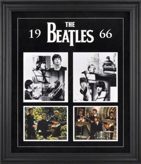 The Beatles 1966 Framed Presentation
