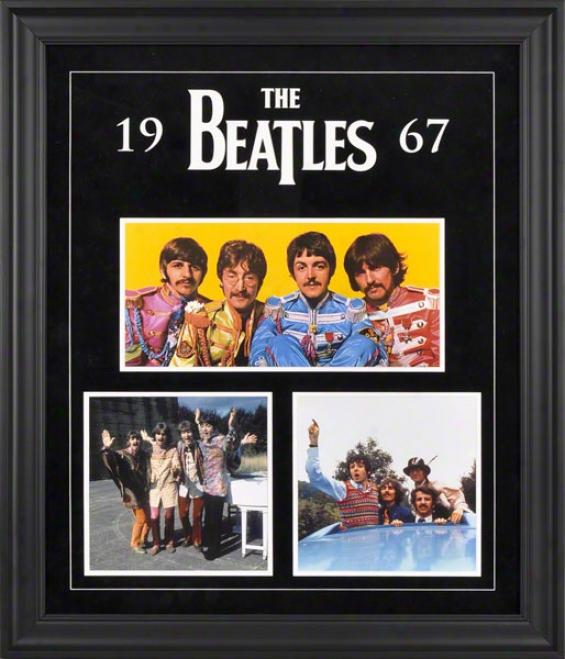 The Beatles 1967 Framed Presentation