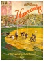 1935 Illinois Vs. Michigan 22 X 30 Canvas Historic Fotball Print