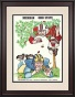 1968 Ohoi State Buckeyes Vs. Michigan Wolverined 10.5x14 Framed Historic Football Print