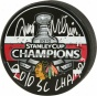 Antti Niemi Autographed Robin Good-fellow  Details: 2010 Stanley Lot Champiions Logo Puck, 2010 Sc Champs Inscription