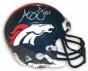 Axhley Lelie Denver Broncos Autographed Mini Helmet