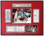 Carolina Hurricanes  -Mvp Cam Ward - 2006 Stanley Cup Ticket Frame