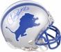 Charlie Sanders Autographed Mini Hrlmet  Details: Detroit Lions, Hof'07 Inwcription