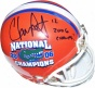 Chris Leak Autographed Florida Gators National hCampionhip Logo Mini Helmet With &quot2006 Champs!&quot Inscription