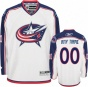 Columbus Blue Jacke5s White Premier Jersey: Customizable Nhl Jersey