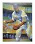 JackieR obinson Brooklyn Dodgers Unsigned 36x48 Giglee